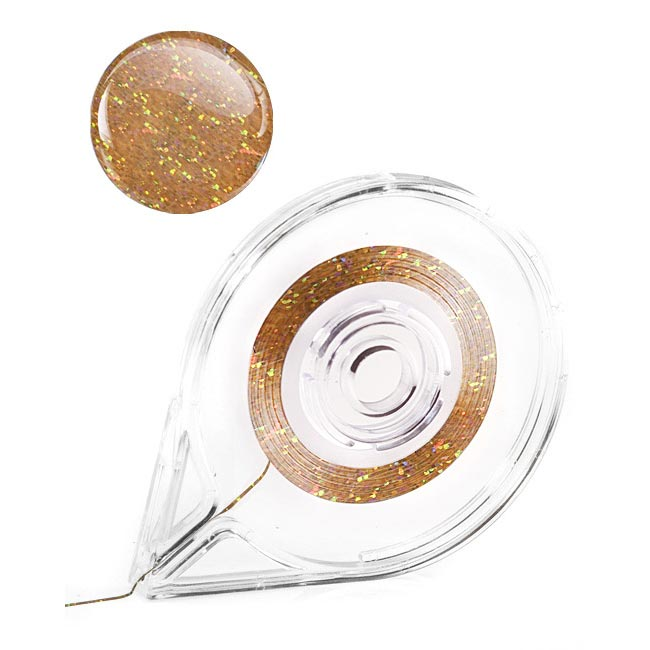 Diamond Bronze Striping Tape – 1mm