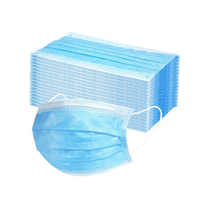 3 Ply Surgical Mask (50/Pack)